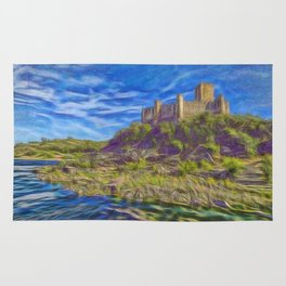 The Knights Templar fort of Almourol Rug