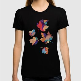 Colorful fallen leaves T-shirt