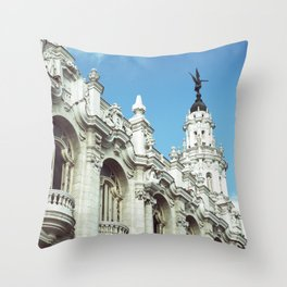 Old Havana Throw Pillow