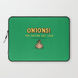 For Crying Out Loud Laptop Sleeve