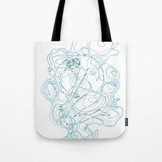 Drowning Tote Bag