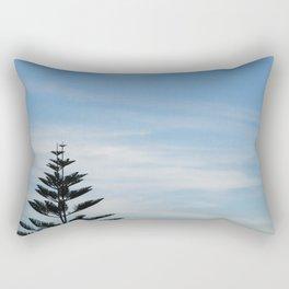 Tranquilidad al atardecer Rectangular Pillow