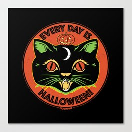 Every Day is Halloween Canvas Print