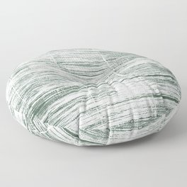 Dolphin Gray abstract watercolor Floor Pillow