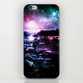 Mystic Waters Cool Tone Ombre iPhone Skin