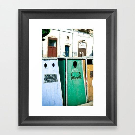 Italy 1 Framed Art Print