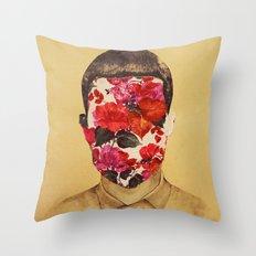 that face Throw Pillow