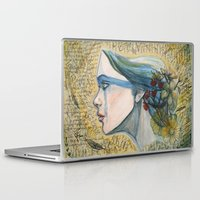 poetry Laptop & iPad Skins featuring poetry by Melissa Wright