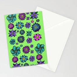 Eye Flowers Stationery Cards