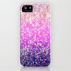 Glitter Graphic Background G104 iPhone (5, 5s) Slim Case
