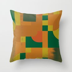 Nostalgic Garbageman Throw Pillow