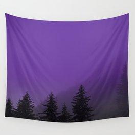 Ultra Violet Fog - Seward Alaska Wall Tapestry