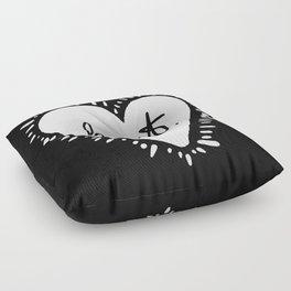 Heart. Floor Pillow
