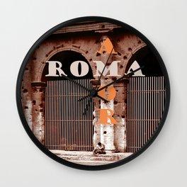 ROMA AMOR Wall Clock