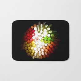 Honeycomb Illumination Bath Mat
