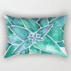 Aloe Vera – Turquoise Palette Rectangular Pillow