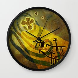 To the Star Wall Clock