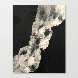 Smoke in the night Canvas Print