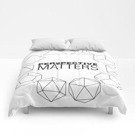 Perspective Matters Comforters