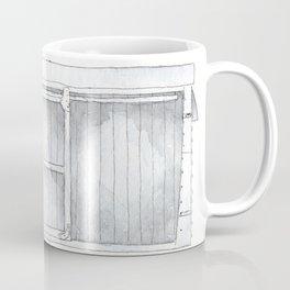 English Railway Wagon, Box Van / Car Coffee Mug