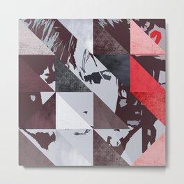 u2's war triangles Metal Print