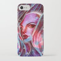 jenny liz rome iPhone & iPod Cases featuring Liz by cgkaitlin