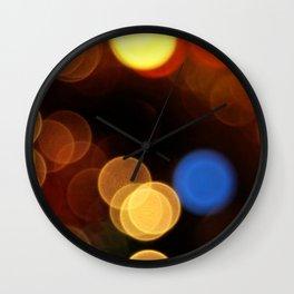 Lens Flair 2 Wall Clock