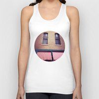 memphis Tank Tops featuring Memphis Wall by wendygray