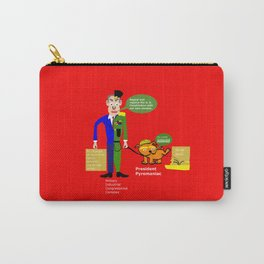 Military–industrial–congressional complex (M. I. C. C.) Carry-All Pouch