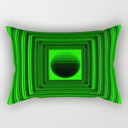 Abstract Green 101 Rectangular Pillow