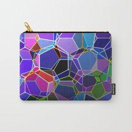 Geometric Genetics - Metallic, abstract, geometric pattern Carry-All Pouch