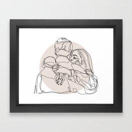 spread hugs Framed Art Print