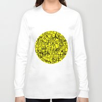 my mad fat diary Long Sleeve T-shirts featuring Diary of My Journey No. 2 by Mystical Garden