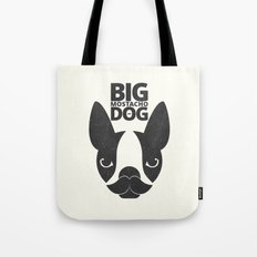 Big Mostacho Dog Tote Bag