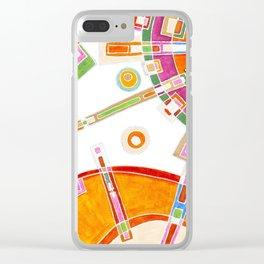 La Mirada del Ser Clear iPhone Case