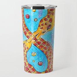 Giraffe infinity Travel Mug