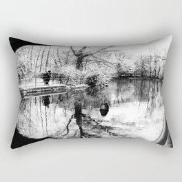 New York Park Rectangular Pillow
