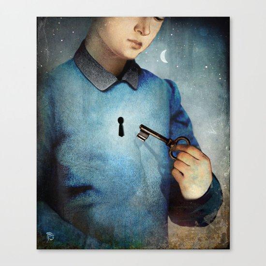 Unlock Canvas Print