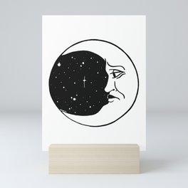 Ask the stars Mini Art Print