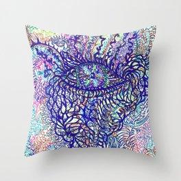 Eye of Pachamama Throw Pillow