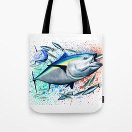 Bluefin Blitz - Bluefin Tuna Tote Bag
