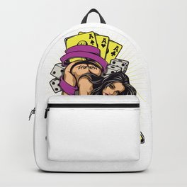Sexy GIRL ACE with Tattoo Backpack