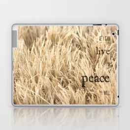 Live in Peace Laptop & iPad Skin