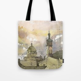 Lviv art Tote Bag