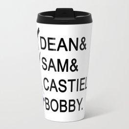 Supernatural Names Travel Mug