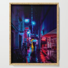 Tokyo Nights / Minutes To Midnight / Liam Wong Serving Tray
