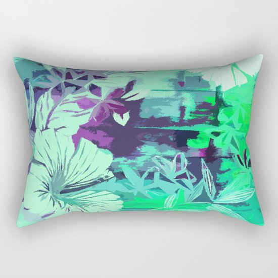 Hula Traffic Rectangular Pillow