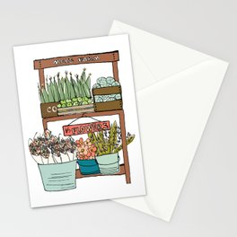 Mei's Farm Stand Stationery Cards