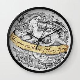 Harry's Map Wall Clock