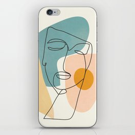 Abstract Face 25 iPhone Skin